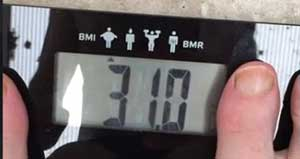 My Body Fat Percentage for My Last Diet Plan & How to Get Rid of Belly Fat.