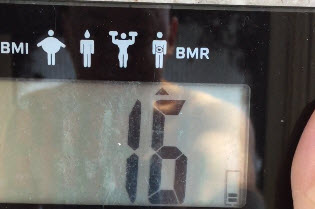 How to Get Rid of Belly Fat-my Body Fat Percentage Weigh-In 2