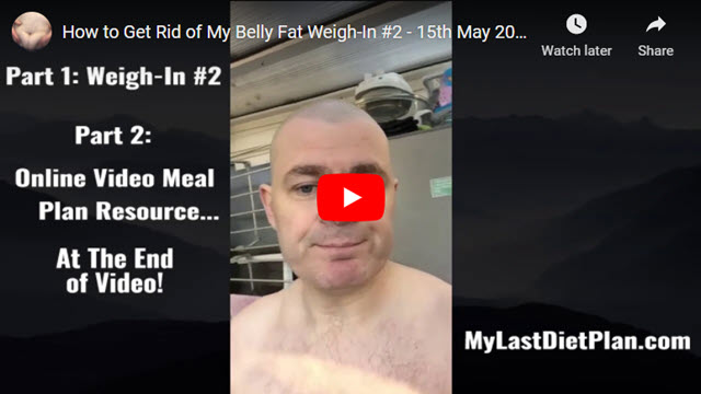 Weigh in #2 of My How to Get Rid of Belly Fat Journey!