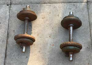 Dumb Bells for How to Get Rid of Belly Fat on My last Diet Plan.