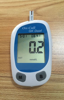 My Blood Ketone Level for My Last Diet Plan & How to Get Rid of Belly Fat.