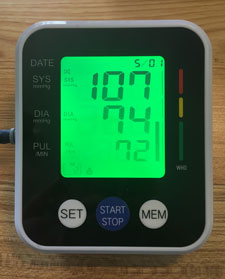 My Blood Pressure for My Last Diet Plan & How to Get Rid of Belly Fat.