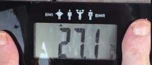 How to Get Rid of Belly Fat My Body Fat Percentage Weigh-In #3