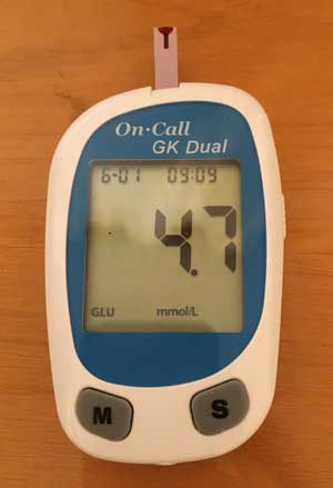 My Blood Glucose Level for My Last Diet Plan & How to Get Rid of Belly Fat Weigh In #3