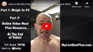 Weigh in #3 of My How to Get Rid of Belly Fat Journey!