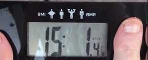 Weigh-in #3 Weight Reading of My How to Get Rid of Belly Fat Journey!