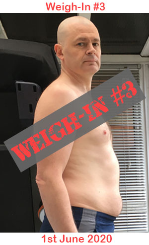 Weigh-in #3 of my How to Get Rid of Belly Fat Journey!