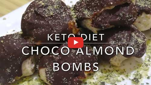 Choco Almond Fat Bombs Dessert How to Get Rid of Belly Fat