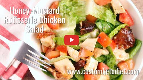Honey Mustard Rotisserie Chicken Salad