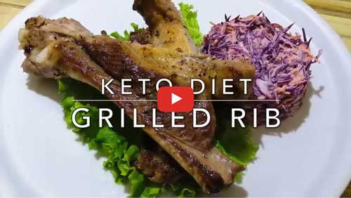Keto Grilled Rib Dinner how to get rid of belly fat