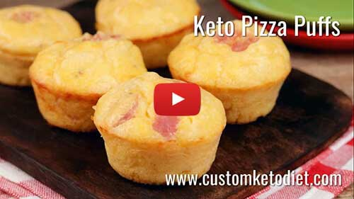 Keto Pizza Puffs Supper - How to Get Rid of Belly Fat